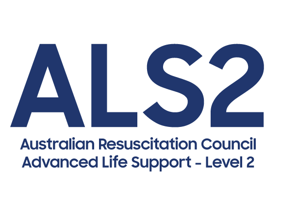 advanced life support ALS2 logo Australian Resuscitation Council